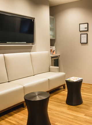 Lonestar Surgery Center Family Waiting Area